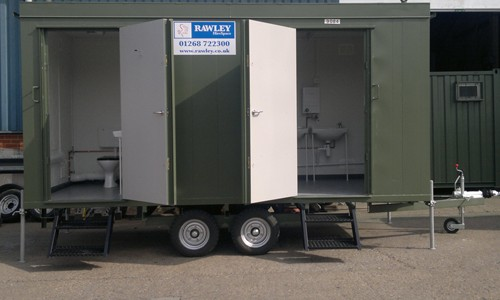 Mobile Mains Toilet Block Hire