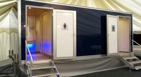 Luxury Mobile Toilet Hire