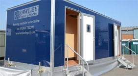 Luxury Mobile Toilet Hire for up to 350 Guests