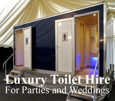 Luxury Wedding Toilet Hire