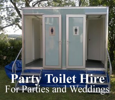 party toilet hire